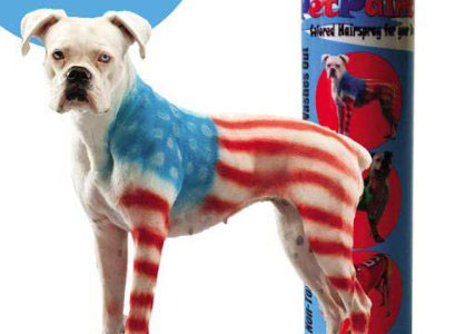 spray paint for dogs