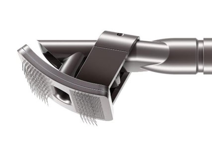 vacuum dog brush